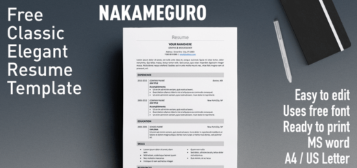 fully editable free resume templates