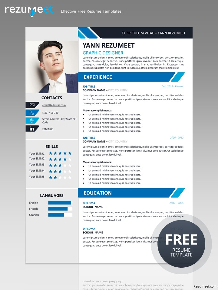 Yanaka Professional Resume Template - Professional templates